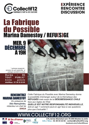 FABRIQUE DU POSSIBLE MARINA - Affiche A3-3